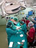 Surgery operation procedure aerial Royalty Free Stock Images