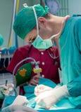 Surgery operation Royalty Free Stock Photos