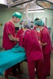 Surgery preliminaries Stock Photos