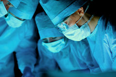 Surgery team in the operating room Royalty Free Stock Photo