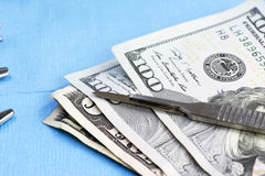 Surgical Costs Royalty Free Stock Photo