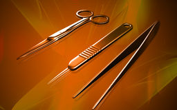 Surgical equipment Royalty Free Stock Photo