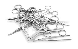 Surgical equipment Royalty Free Stock Image