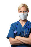Surgical female  Doctor Stock Image