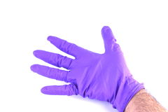 Surgical glove Royalty Free Stock Image