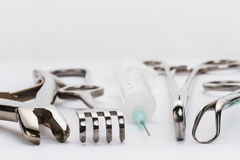 Surgical instruments Royalty Free Stock Photo