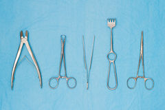 Surgical instruments Stock Images