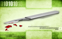 Surgical knife Royalty Free Stock Image