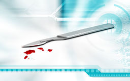 Surgical knife Stock Images
