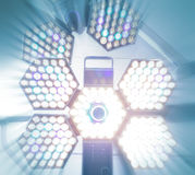 Surgical lamp. Royalty Free Stock Images
