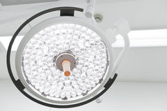 Surgical lamps in operation room Royalty Free Stock Images