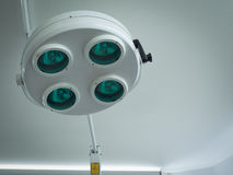 Surgical light or medical lamp in operation room. For surgery Royalty Free Stock Image