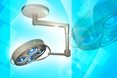 Surgical light or medical lamp Royalty Free Stock Photography