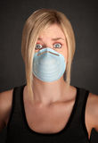 Surgical Mask Safety Stock Image