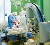 Surgical operation Stock Images