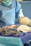 Surgical Supplies. For procedure stock photography