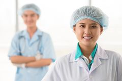 Surgical team Stock Photography