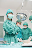 surgical team Στοκ φωτογραφία με δικαίωμα ελεύθερης χρήσης