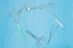 Surgical tools Royalty Free Stock Photography