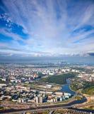 Surgut city Stock Photo