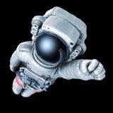 Surhomme d'astronaute, image avec un chemin de travail illustration de vecteur