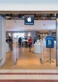 Suria KLCC购物中心的,吉隆坡,马来西亚苹果计算机商店 免版税库存照片