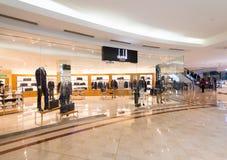 Suria KLCC购物中心的,吉隆坡,马来西亚登喜路商店 免版税图库摄影