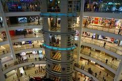 Suria KLCC - compras de Kuala Lumpur Foto de archivo libre de regalías