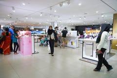 Suria KLCC. KUALA LUMPUR, MALAYSIA - MAY 09, 2016: Sony Store in Suria KLCC. Suria KLCC is a shopping mall is located in the Kuala Lumpur City Centre district Stock Photography