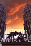 Suria KLCC. KLCC a landmark in Kuala Lumpur Royalty Free Stock Photo