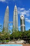 Suria KLCC Petronas bliźniacze wieże - 009 Zdjęcie Royalty Free