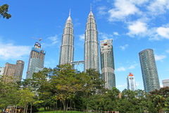 Suria KLCC Petronas bliźniacze wieże - 007 Obraz Royalty Free