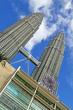 Suria KLCC Petronas tvillingbröder - 003 Arkivfoto