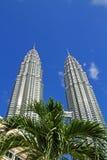 Suria KLCC Petronas tvillingbröder - 011 Arkivbilder