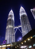 Suria KLCC & Petronas Twin Towers Stock Photography
