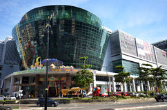 Suria Sabah a shopping mall in Kota kinabalu. KOTA KINABALU, MALAYSIA- 24 JUN 2017: Suria Sabah a shopping mall in Kota kinabalu city with hundreds of shop Stock Image