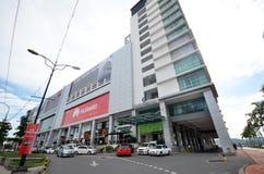 Suria Sabah shopping mall in Kota Kinabalu. KOTA KINABALU, MALAYSIA- 29 JUN, 2017: Suria Sabah shopping mall in Kota Kinabalu,Sabah, Malaysia. The mall facing Stock Photography