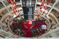 Suriaklcc Winkelcomplex in Kuala Lumpur royalty-vrije stock afbeeldingen