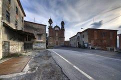 Surie Clavesna, βόρεια Ιταλία, μια πόλη-φάντασμα στοκ εικόνες με δικαίωμα ελεύθερης χρήσης