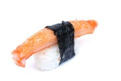 Surimi寿司,人为蟹肉 库存图片