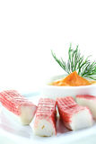 Surimi Ocean Sticks Royalty Free Stock Image