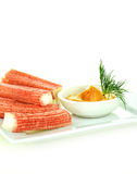 Surimi Ocean Sticks III Royalty Free Stock Photo