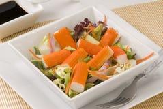 Surimi salad. Royalty Free Stock Photography