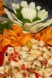 Surimi Salad Stock Image