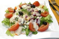 Surimi salad Royalty Free Stock Images