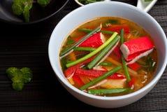 Surimi soup Stock Image