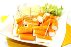 Surimi sticks Royalty Free Stock Photo