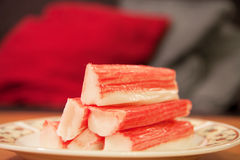 Surimi sticks Stock Image