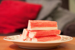 Surimi sticks Royalty Free Stock Photography