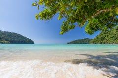 Surin ö, Thailand Arkivbilder